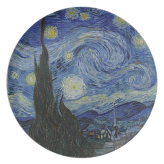 Van Gogh - Starry Night Plate