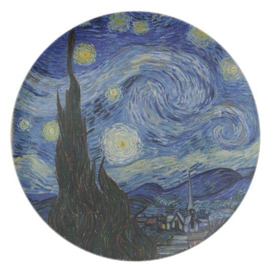 Van Gogh - Starry Night Plate
