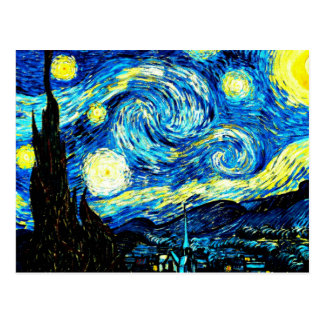 Van Gogh - Starry Night Postcard