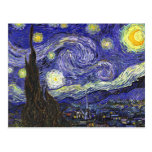 Van Gogh Starry Night Postcards