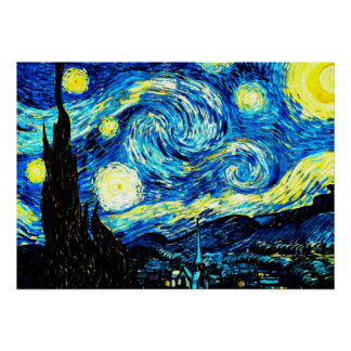 Van Gogh: Starry Night Poster