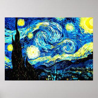 Van Gogh: Starry Night Poster