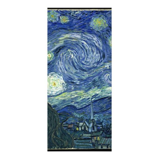 Van  Gogh Starry Night Rack Cards