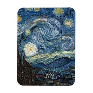 Van Gogh Starry Night Rectangular Photo Magnet