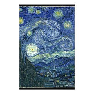 Van  Gogh Starry Night Stationery
