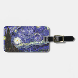 Van Gogh Starry Night Tag For Bags
