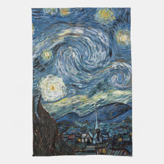 Van Gogh Starry Night Tea Towel