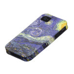 Van Gogh Starry Night, Vintage Post Impressionism Case-Mate iPhone 4 Covers