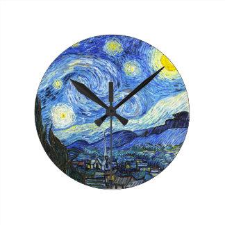 Van Gogh Starry Night Wallclock