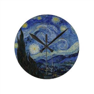 Van Gogh - Starry Night Wallclocks