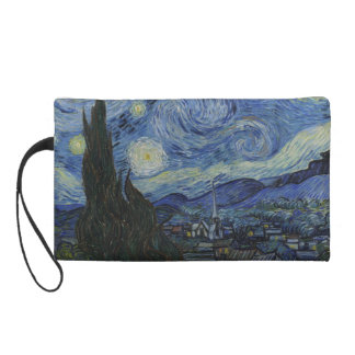 Van Gogh - Starry Night Wristlet