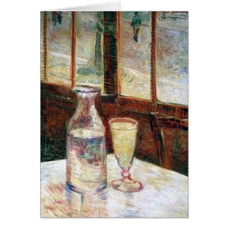 Van Gogh Still Life Absinthe  (F339) Note Card