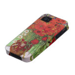 Van Gogh; Still Life: Red Poppies and Daisies iPhone 4/4S Case