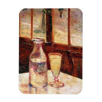 Van Gogh - Still Life with Glass of Absinthe Rectangular Photo Magnet