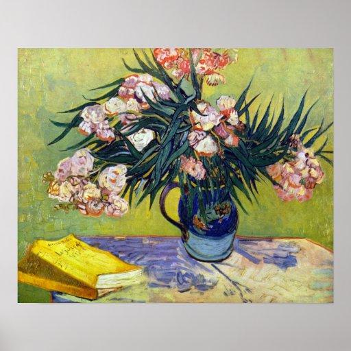 Van Gogh - Still Life with Oleander Poster