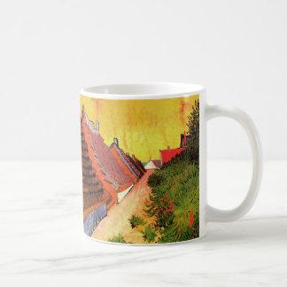 Van Gogh Street in Saintes Marie, Vintage Fine Art Coffee Mug