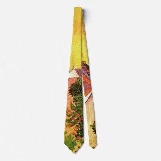 Van Gogh Street in Saintes Marie, Vintage Fine Art Tie