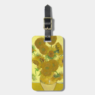 Van Gogh | Sunflowers | 1888 Luggage Tag