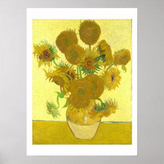 Van Gogh | Sunflowers | 1888 Poster