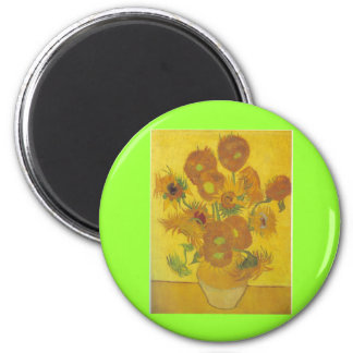 Van Gogh Sunflowers 2 Magnets