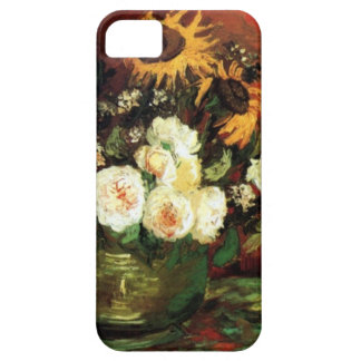 Van Gogh Sunflowers and Roses Case For The iPhone 5