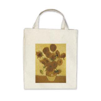 Van Gogh Sunflowers Canvas Bag