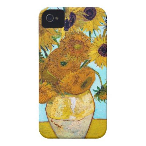 Van Gogh Sunflowers Blackberry Blackberry Bold Cover