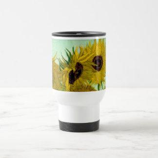 Van Gogh Sunflowers (F456) Vintage Fine Art Coffee Mug