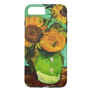 Van Gogh - Sunflowers, Three iPhone 8 Plus/7 Plus Case