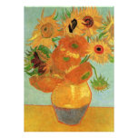 Van Gogh Sunflowers Wedding Invitation