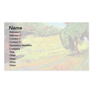 Van Gogh - Sunny Lawn In A Public Park Pack Of Standard Business Cards