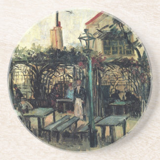 Van Gogh; Terrace of a Cafe on Montmartre Drink Coaster