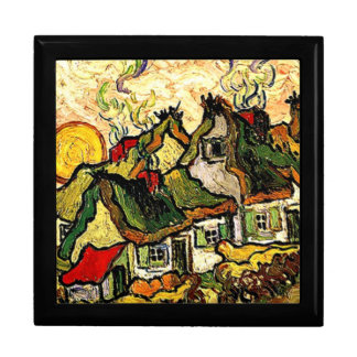 Van Gogh: Thatched Cottages in the Sunshine Gift Box