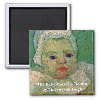 Van Gogh; The Baby Marcelle Roulin Fridge Magnet