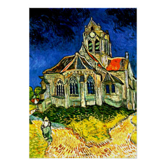 Van Gogh - The Church at Arles Poster