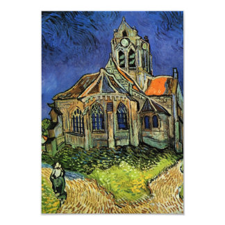 van Gogh, The Church at Auvers, Save the Date Invitations