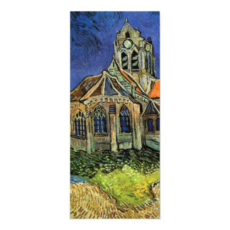 van Gogh, The Church at Auvers, Save the Date Custom Announcement