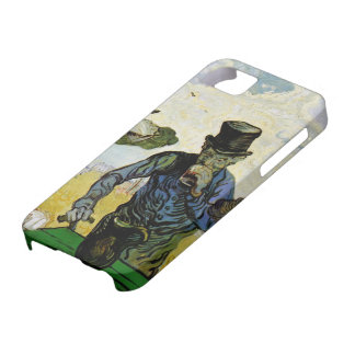 Van Gogh; The Drinkers, Vintage Post Impressionism iPhone 5 Covers