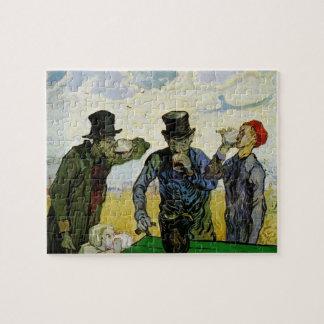 Van Gogh; The Drinkers, Vintage Post Impressionism Puzzle
