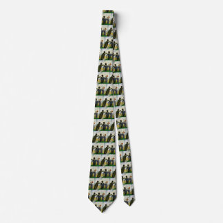 Van Gogh, The Drinkers, Vintage Post Impressionism Tie