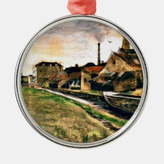 Van Gogh: The Factory of Enthoven on the Zieken Metal Ornament