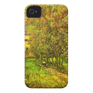 Van Gogh: The Garden of Saint-Paul Hospital iPhone 4 Cover