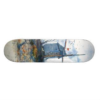 Van Gogh: The Mill of Galette Skate Board Decks