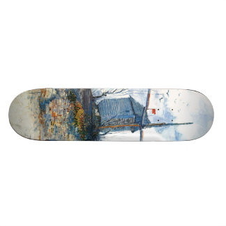 Van Gogh: The Mill of Galette Skate Board