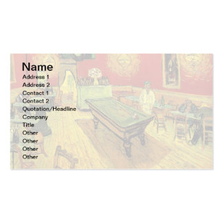 Van Gogh - The Night Cafe Pack Of Standard Business Cards