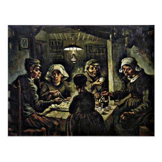 Van Gogh - The Potato Eaters Postcard
