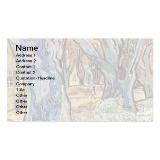 Van Gogh - The Road Menders Pack Of Standard Business Cards