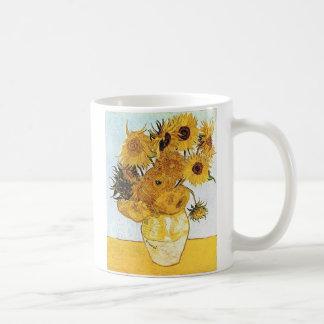 Van Gogh The Vase with 12 Sunflowers Coffee Mug