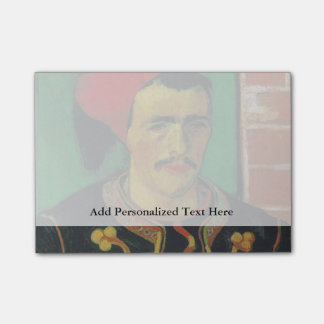 Van Gogh |The Zouave| 1888 Sticky Notes