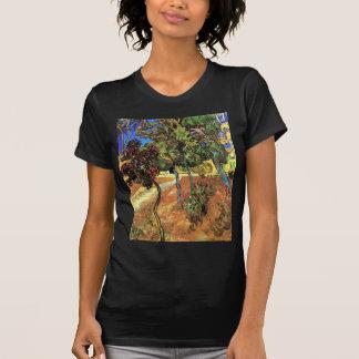 Van Gogh - Trees In The Garden of St Paul Hospital Tee Shirts
